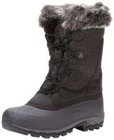 Kamik Womens Momentum Snow BootBlack10 M US ** Find out more about the great product at the image link. (This is an affiliate link)