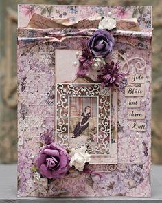 LaBlanche :: Fotos Papierset Anemone und Hortensie