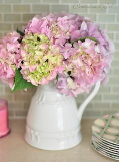 Centsational Girl » Blog Archive » Growing Healthy Hydrangeas.  She gives terrific info on the growing and care of hydrangeas.  I've tried to grow these in South Texas with no success.  Love these as a transplanted Tennessean.