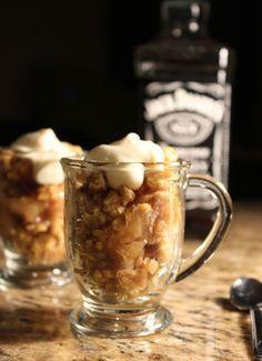 Bourbon Apple Crisp Shooters With Bourbon Cream Recipe - Food.com