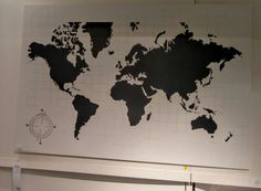 Mbler og interir til hele hjemmet pinterest map pictures plywood world map 245 nis at ikea for diy gumiabroncs Image collections