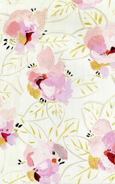 Free floral desktop computer background wallpaper from Design Lovefest. Surface Pattern Design, Pattern Art, Pattern Flower, Textures Patterns, Print Patterns, Kate Spade Wallpaper, Dress Your Tech, Free Desktop Wallpaper, Desktop Backgrounds