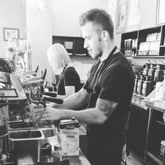 Meet Kyle Menchaca. He won Boise's Annual Latte Art Contest last year. Find him in #BoDo at Caffe d'Arte.  Cheers  #boisebaristas