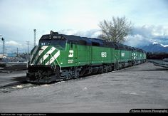 RailPictures.Net Photo: BN 6613 Burlington Northern Railroad EMD F45 at Provo, Utah by James Belmont