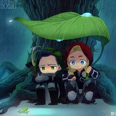Thor & Loki. Too much cuteness. It's just ... it's too much.