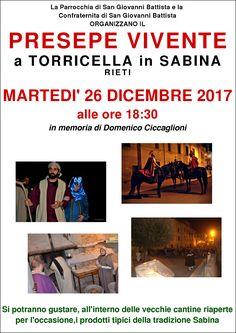 Presepe Vivente a Torricella in Sabina (26 Dicembre 2017)