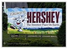 hershey park the sweetest place on earth #candy #travel