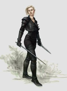 """we-are-rogue:  """" Elven rogue by Frida Bergholtz  """""""