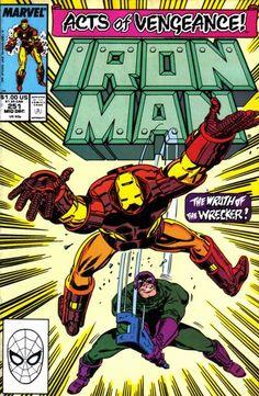 Iron Man (Dec Marvel) for sale online Marvel Comics Superheroes, Marvel Comic Books, Comic Books Art, Comic Art, Book Art, Marvel Characters, Dc Comics, Univers Marvel, Tony Stark