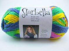 starabella ruffle yarn | Starbella Ruffle Scarf Yarn by Premier in by PurpleOkapiStudio