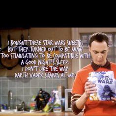 Sheldon problems...