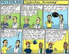 Selective Reasoning
