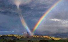 Regnbue tornado