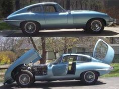 Jaguar XKE '66 - Usually car is utility for me (to get from place A to B) - However, this is more than a car