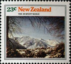 New Zealand (695) 1973 Mountain Views
