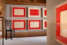 Chalet Interior, Interior Design, Bedroom Red, Project 4, Living Room Art, Interior Inspiration, Interior Architecture, Minimalism, Wall Art