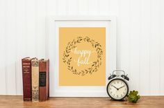 Happy Fall Print - 1
