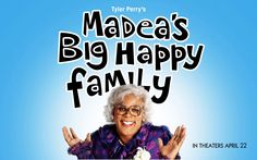 Watch Streaming HD Madea's Big Happy Family, starring Tyler Perry, Loretta Devine, Bow Wow, Cassi Davis. Madea jumps into action when her niece, Shirley, receives distressing news about her health. All Shirley... #Comedy #Drama http://play.theatrr.com/play.php?movie=1787759