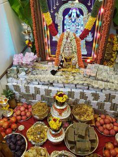 Diwali Decorations At Home, Indian Wedding Decorations, Festival Decorations, Table Decorations, Silver Pooja Items, Rangoli Designs Latest, Pooja Mandir, Pooja Room Design, Diwali Diy