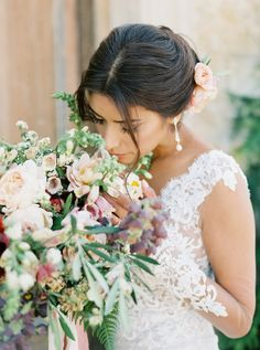 Every once and a while a wedding comes along that's truly unlike anything we've ever seen. A wedding where style and heart intersectand cultural beauty reigns king. That very wedding is what's about to unfold from the lens ofLuna de