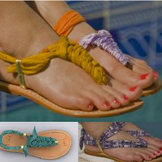 Tia's DIY Sandal - I want to try this one...