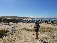 The Chokka Trail - Hiking and slackpacking trail between Oyster Bay and St Francis, Garden Route Hiking Spots, Hiking Trails, Abseiling, Walking Routes, Bungee Jumping, Adventure Activities, St Francis, Hiking Backpack, Sunshine Coast