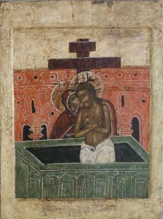 """Russian Orthodox icon Mother of God """"Do Not Lament Me"""" Byzantine Icons, Byzantine Art, Christ The Good Shepherd, Church Icon, Black Jesus, Russian Icons, Religious Paintings, Black History Facts, Post Impressionism"""