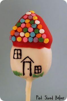 Sugar Shack Cake Pops from Pint Sized Baker