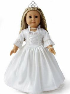Wedding Dress For Dolls Like 18 American Girls By Emma 39 S Collectio