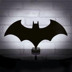 lampe eclipse dc comics batman bat logo