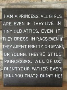 """The Little Princess"" -- one of my all time favorite books!"