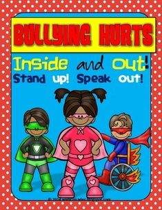 Bullying is the use of force, threat, or coercion to abuse, intimidate, or aggressively impose domination over someone intentionally and repeatedly causing another person injury or discomfort. It cannot be tolerated. Here's a poster that I made for my school hall to remind everyone that it hurts and that it is not tolerated at all!  © 2014 Nicole Hernandez A Teacher's Idea