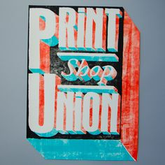 Image of Monkey - Print Shop Union  Buy at www.limitedworks.com