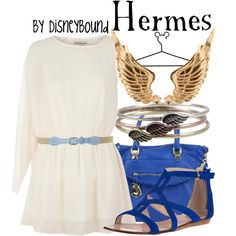 """Hermes"" by lalakay on Polyvore #disney"