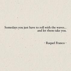 Words by Raquel Franco -