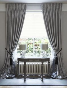 Sheer linen curtains,I would love something like this in my ...