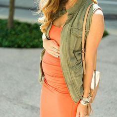 17 week baby bump // shop the look - liketk.it/2nTnW