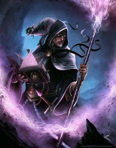 Dark Wizard. Warlock of the west idea?