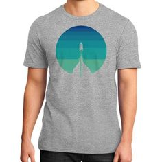 Into The Out Space District T-Shirt (on man)