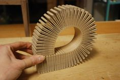 cool cutting Wood Joining, Flexible Wood, Living Hinge, How To Bend Wood, Wood Structure, Shell Structure, Metal Bending, 3d Cnc, Curved Wood