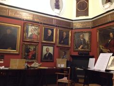 The Art Workers Guild on Queen Square. A great venue to organize art talks.