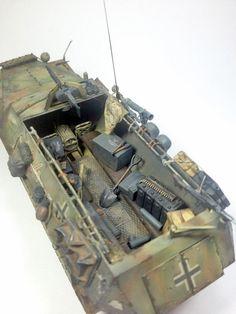 Hanomag sdkfz 215/1 - 1:35 by Daz