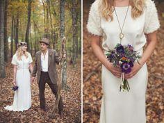 Boho / couple / wedding bouqette
