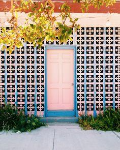 Pink front door   VSCO   emberexi