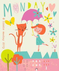 Montag, wir kommen :-) mit Lizzie Mackay: May 2013