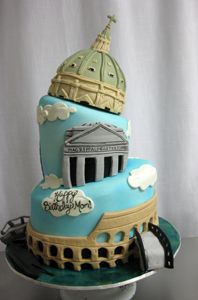 wedding cakes rome ny leaning tower of pisa cake the not so leaning tower of 25388