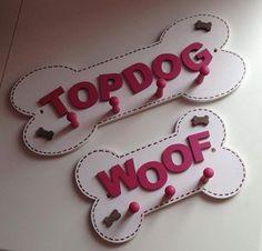 "Pegged Dog Lead Holder ""TOPDOG"" Large, £12.99"