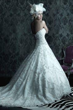 allure bridals fall 2012 wedding dress