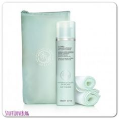 Hands down...the best cleanser...I use it mostly at night. Liz Earle Polish and Cleanse Hot Cloth Cleanser Kit