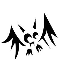 Bildresultat för bat pumpkin carving stencil